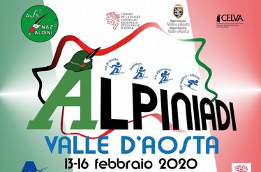 Winter Alpini Olympic Games in Cogne, Aosta Valley