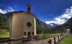 Lillaz Chapel - Cogne - Aosta Valley