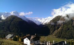 The village of Gimillan - Cogne - Aosta Valley