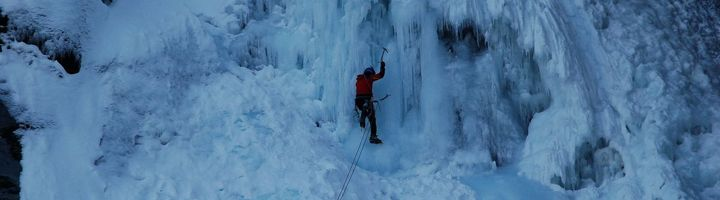 Icefalls in Cogne - Aosta Valley